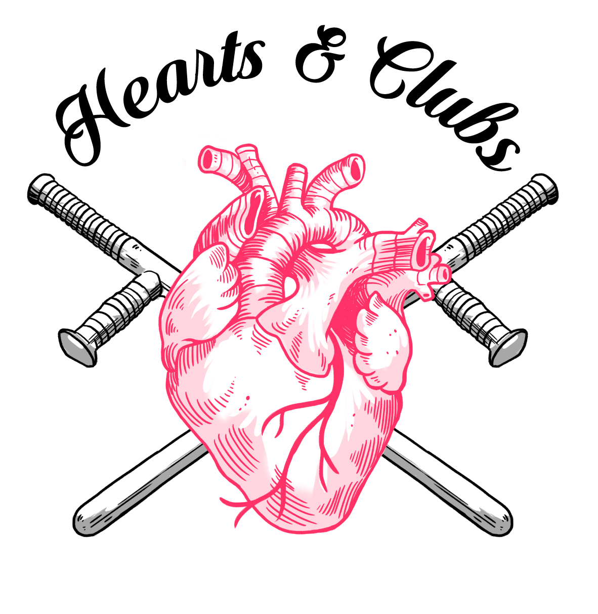 Hearts and clubs logo