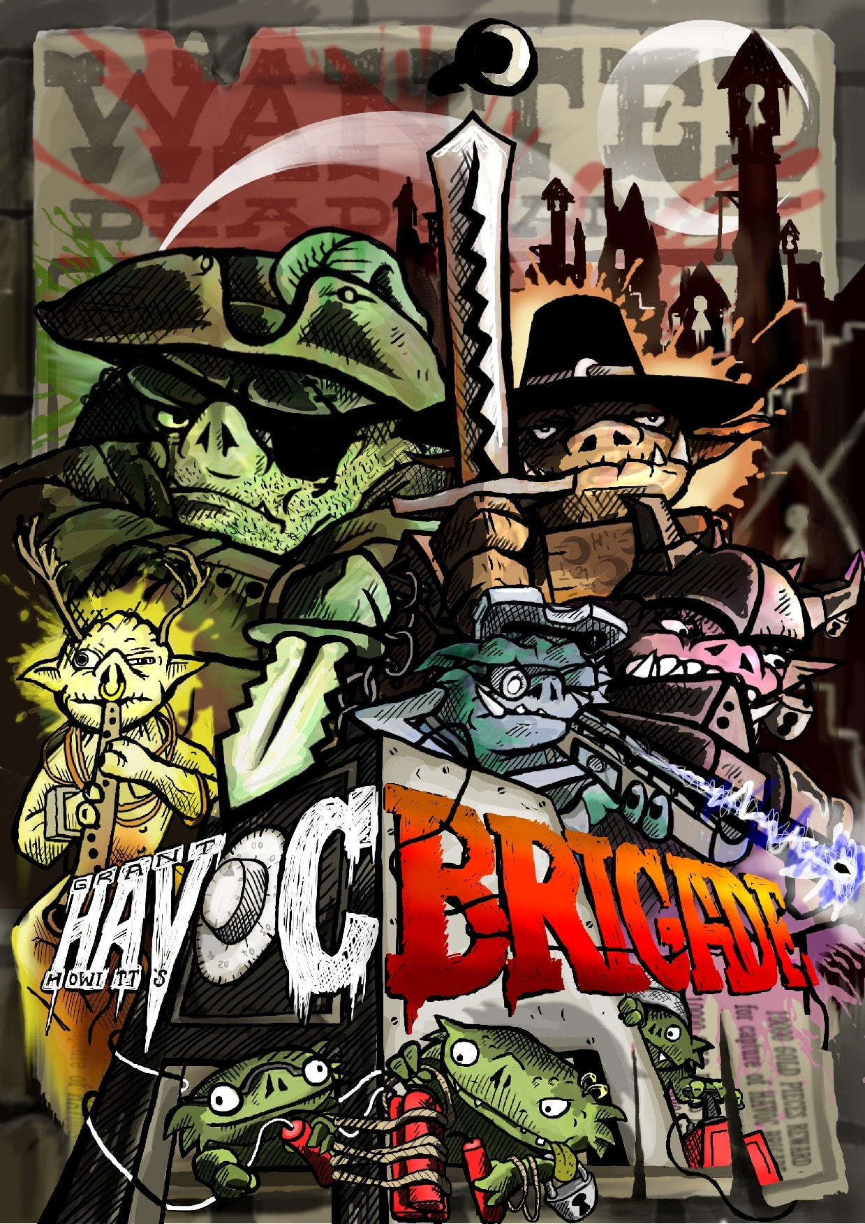 Couverture du jeu Havoc Brigade