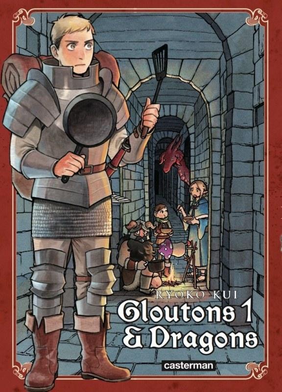 Couverture du tome 1 de Gloutons & Dragons