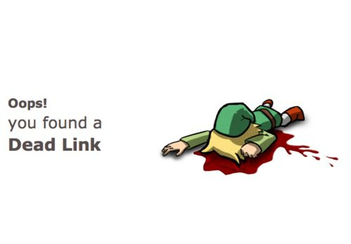 Ooops! you found a Dead Link